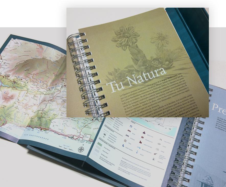 diseño de guía turística