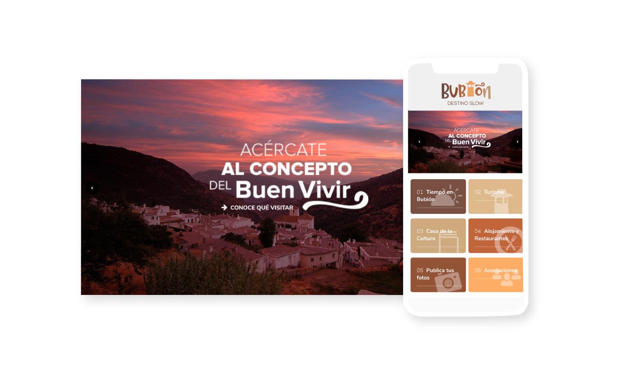 web turística