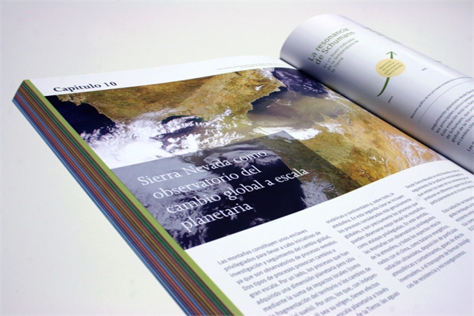 Diseño editorial Cambio Climático