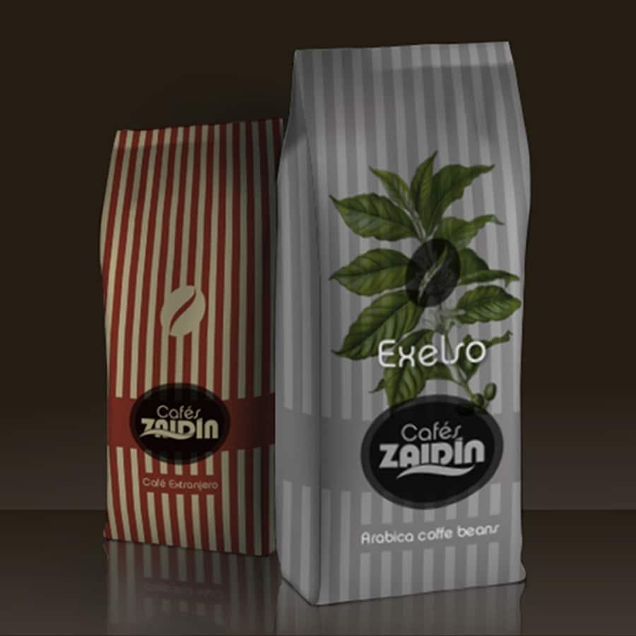 Diseño packaging café